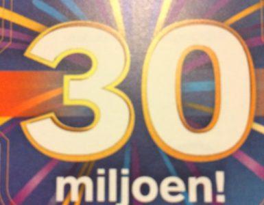 Wat zou jij doen met 30 miljoen?