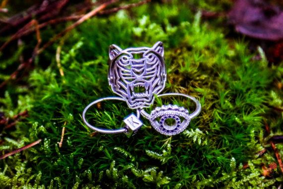 Mijn ringen van Kenzo