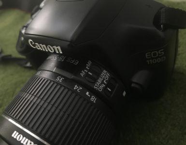Onverwachts een nieuwe camera!