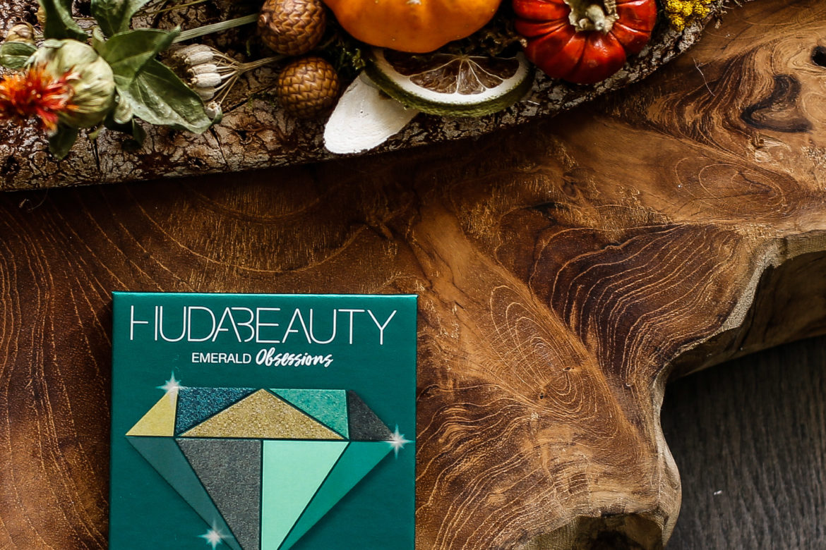 Make-up mania: Huda Beauty Emerald Obsessions