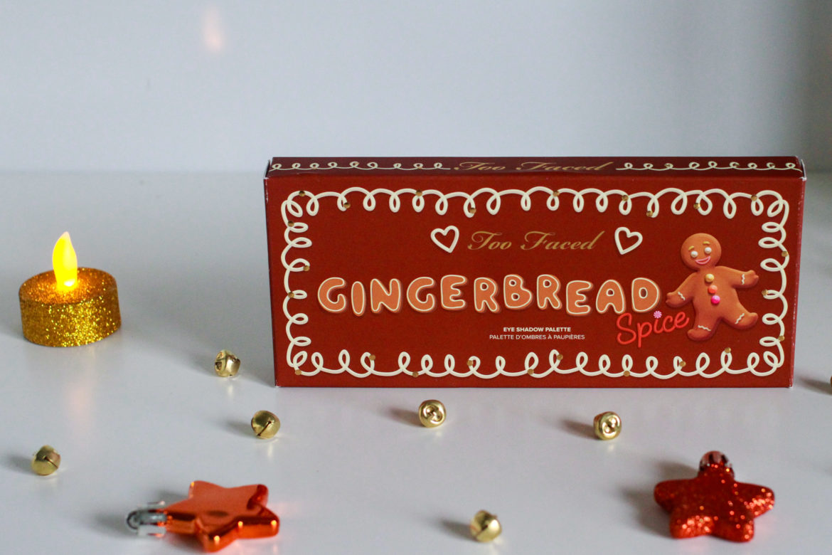 Make – up mania: Gingerbread Spice Eyeshadow Palette by Too Faced